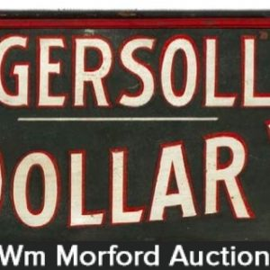 Ingersoll Dollar Watch Sign