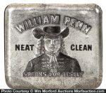 William Penn Tobacco Tin
