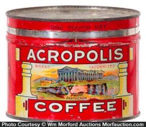 Acropolis Coffee Can