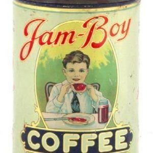 Jam Boy Coffee Can