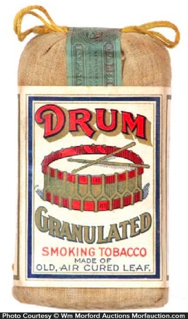 Drum Tobacco Pouch