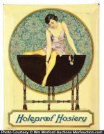 Holeproof Hosiery Sign