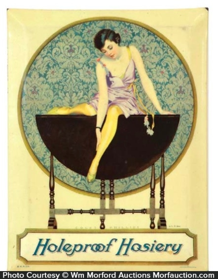 Holeproof Hosiery Sign