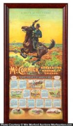 Mccormick Harvesting Machines Calendar