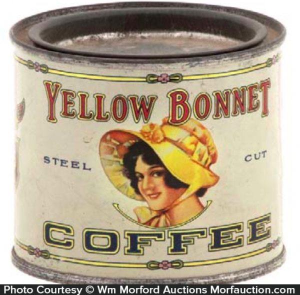Yellow Bonnet Coffee Sample Tin