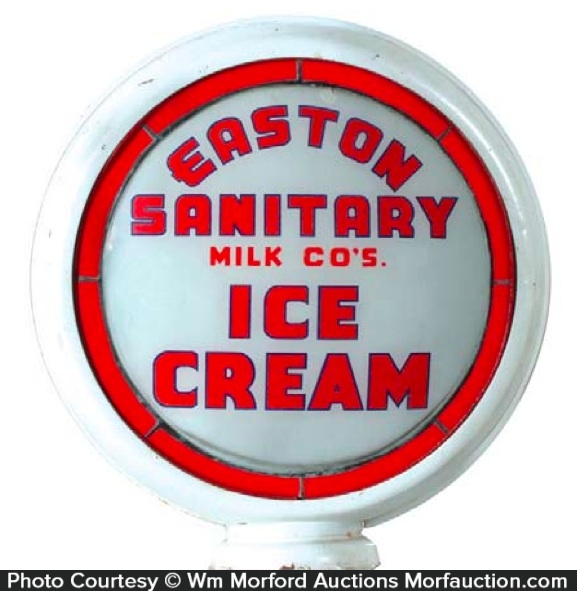 Easton Sanitary Milk Ice Cream Globe