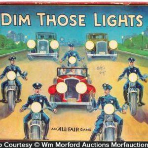 Dim Those Lights Game