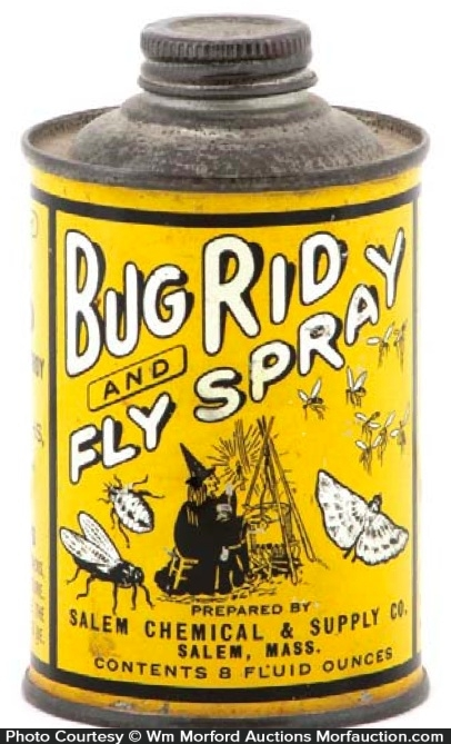 Bug Rid Fly Spray Tin