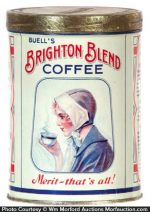 Brighton Blend Coffee Can