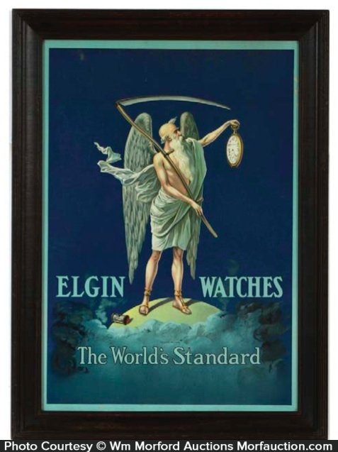 Elgin Watches Sign