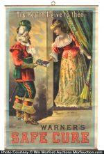 Warner's Safe Cure Sign