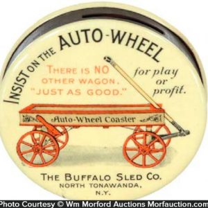 Buffalo Sled Auto-Wheel Bank