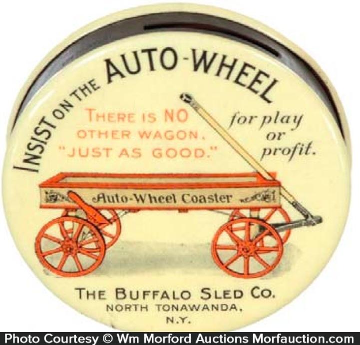 Buffalo Sled Auto-Wheel Bank