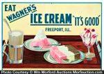 Wagner's Ice Cream Sign