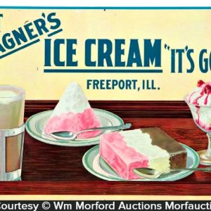 Wagner's Ice Cream Sign