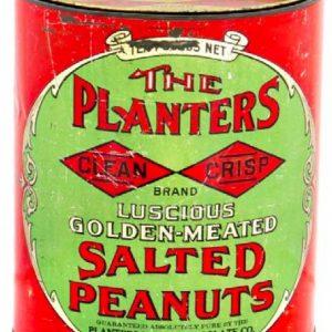 Planters Clean Crisp Tin