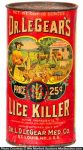 Dr. Legear's Lice Killer Tin