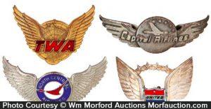 Vintage Airline Badges