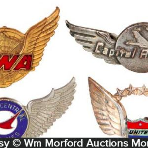 Vintage Airline Badges