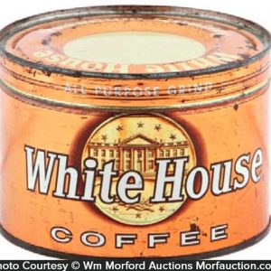 White House Coffee Can