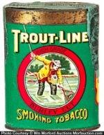 Trout Line Tobacco Pocket Tin