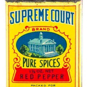 Supreme Court Spice Tin