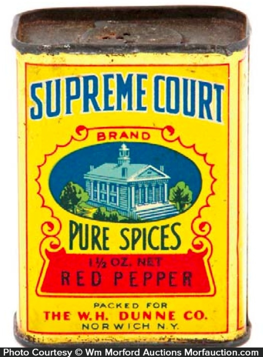 Supreme Court Spice Tin
