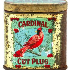 Cardinal Tobacco Sample Tin