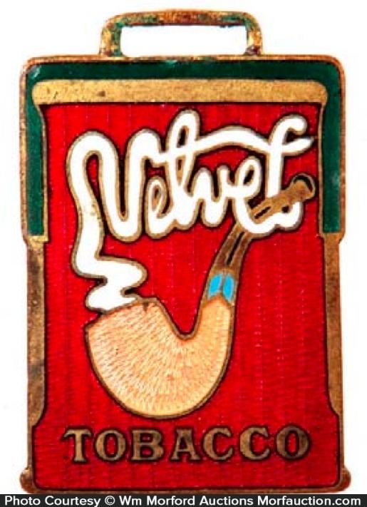 Velvet Tobacco Watch Fob