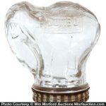 Jumbo Peanut Butter Glass Jar