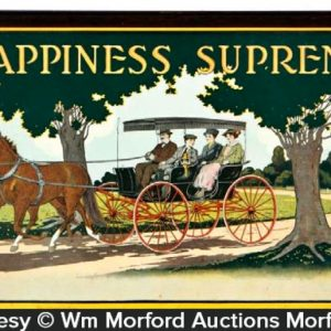 Happiness Supreme Carriage Sign