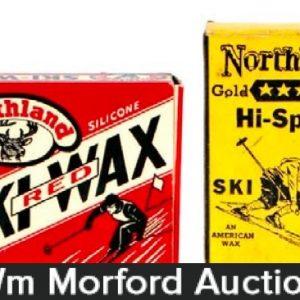 Vintage Ski Wax Tins