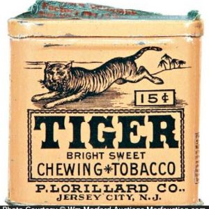 Tiger Tobacco Pocket Tin