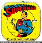 Superman Dime Bank