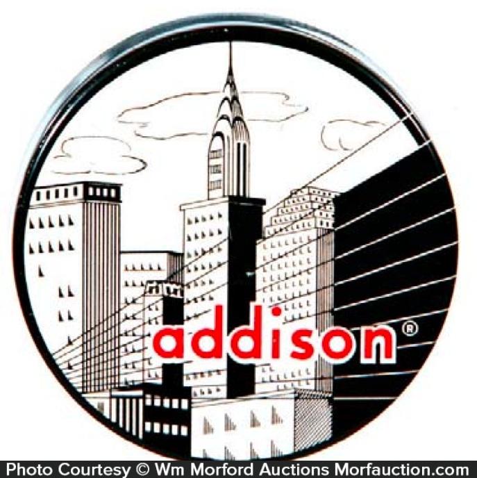 Addison Typewriter Tin