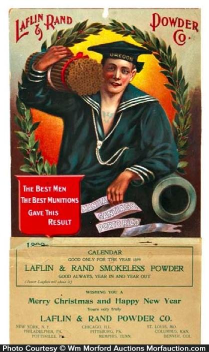 Laflin & Rand Powder Calendar