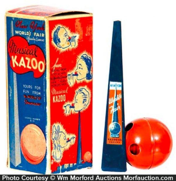 1939 Worlds Fair Kazoo