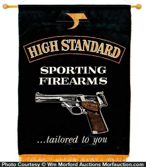 High Standard Pistols Banner