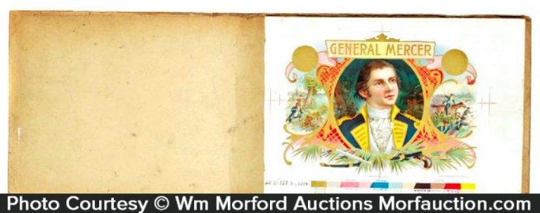 General Mercer Cigars Proofing Book