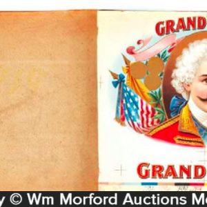 Grand Duke Cigar Labels Book