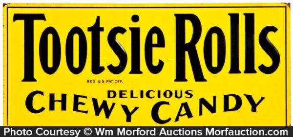 Tootsie Rolls Sign