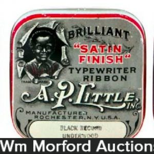 A.P. Little Typewriter Tins