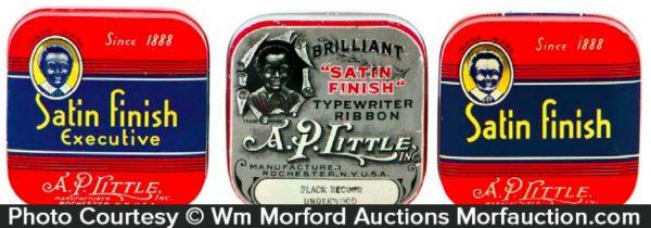 A.P. Little Typewriter Tins