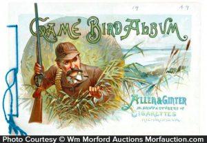 Allen & Ginter Game Bird Album