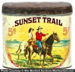 Sunset Tail Cigar Tin