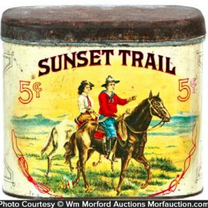 Sunset Tail Cigar Tin
