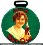 Gay-Ola Watch Fob Mirror
