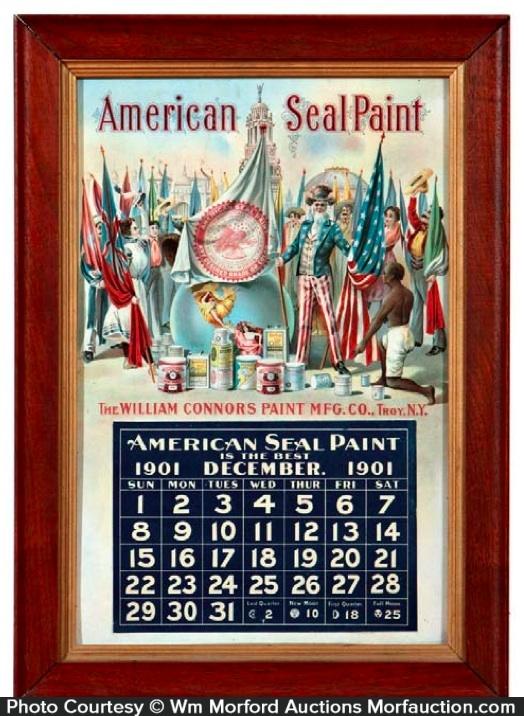American Seal Paint Calendar