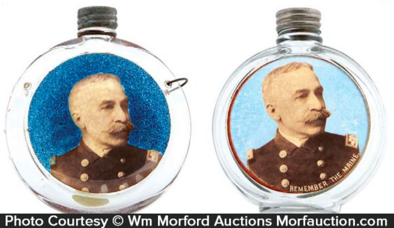 Admiral Dewey Flasks