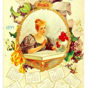 1899 Coca-Cola Calendar